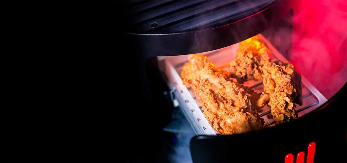 KFC presenta su consola de videojuegos para jugar y calentar pollo frito 2
