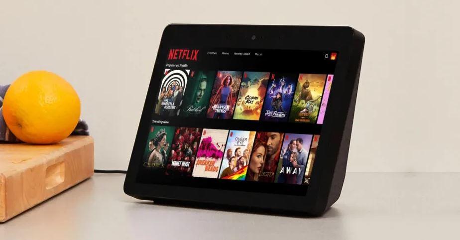 Ya puedes ver Netflix en tu Amazon Echo Show