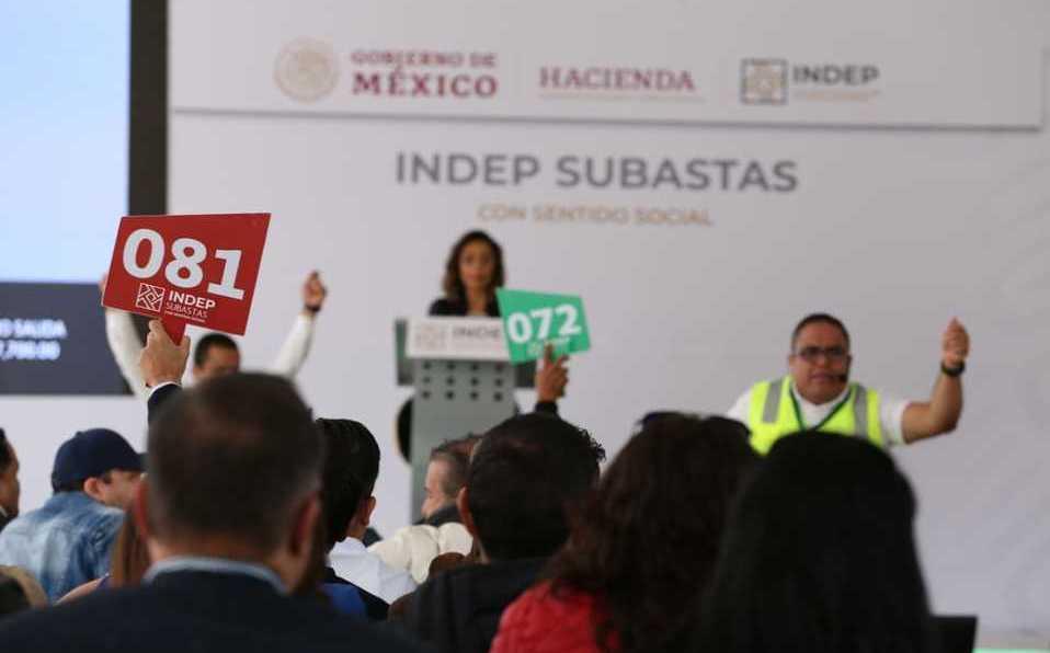 El Gobierno de México subastará celulares, autos, electrodomésticos y más