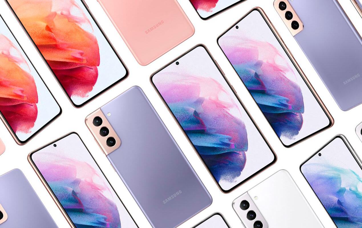 Filtran imágenes oficiales de los nuevos Samsung Galaxy S21