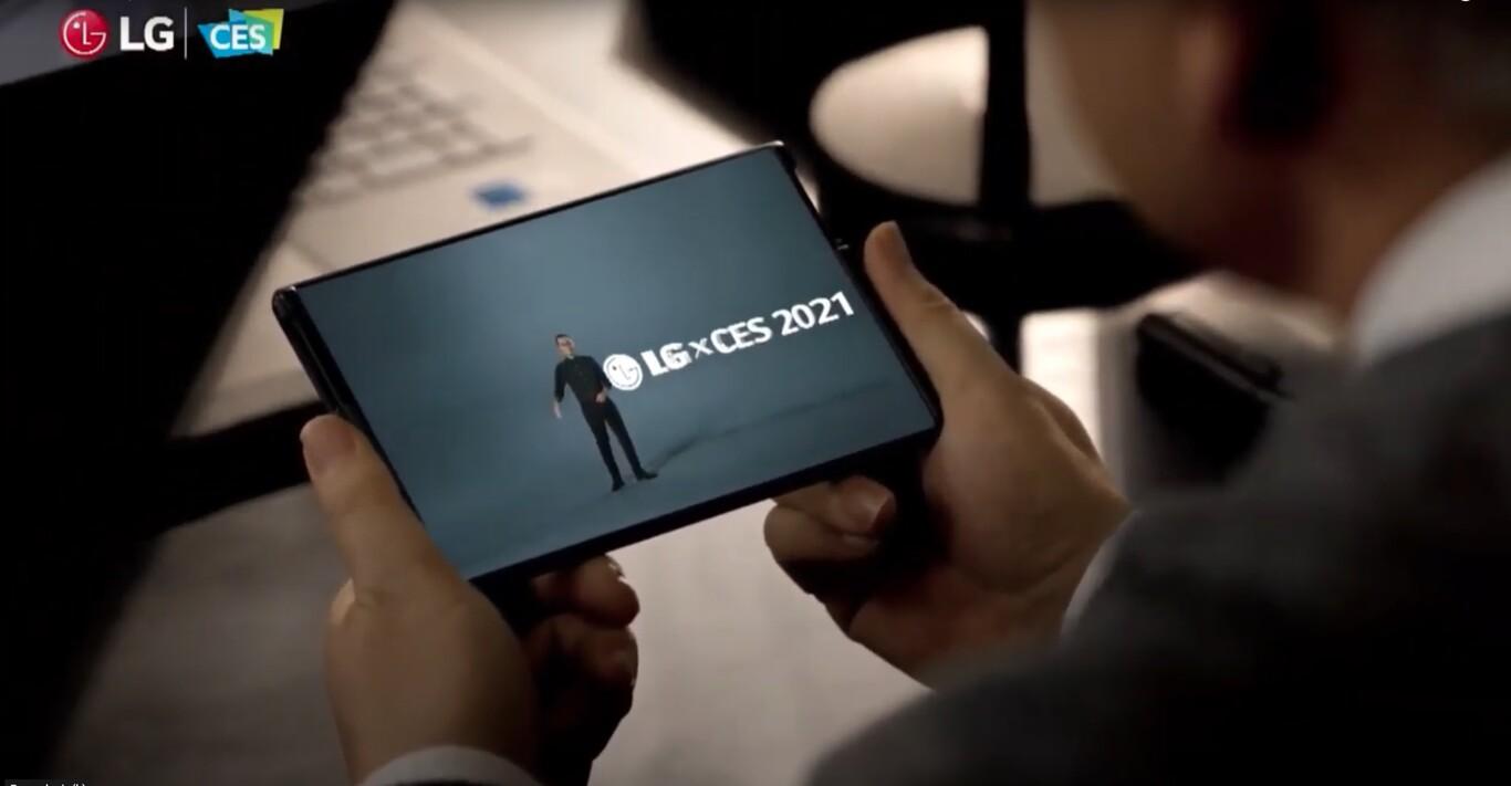 LG Rollable: El primer vistazo al nuevo móvil con pantalla enrollable de LG
