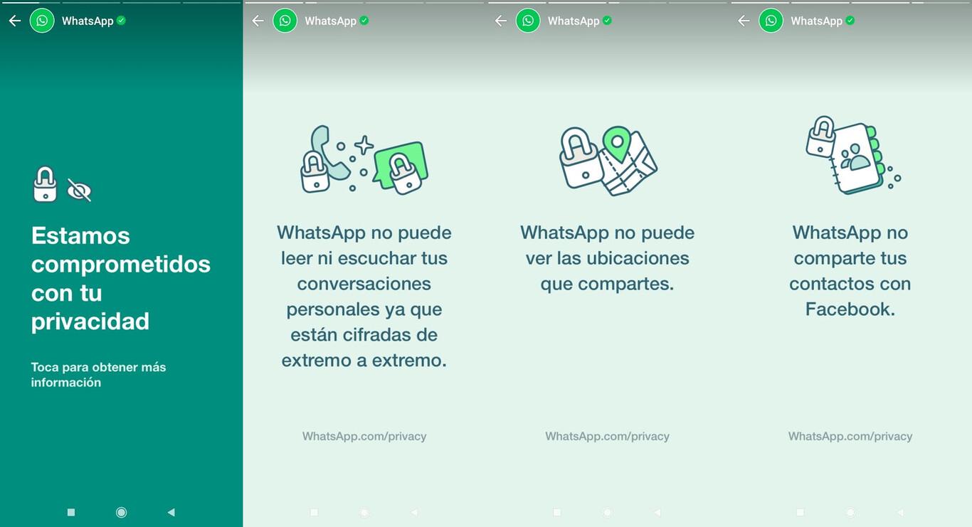 Por medio de stories, WhatsApp asegura que no lee tus conversaciones