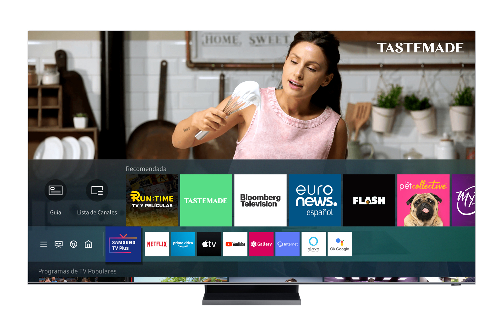 Samsung TV Plus llega a México, la plataforma de streaming gratuito