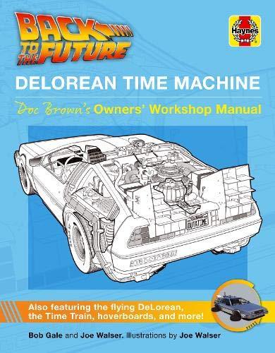 Ya puedes comprar el manual de usuario del DeLorean de Back to the Future 2