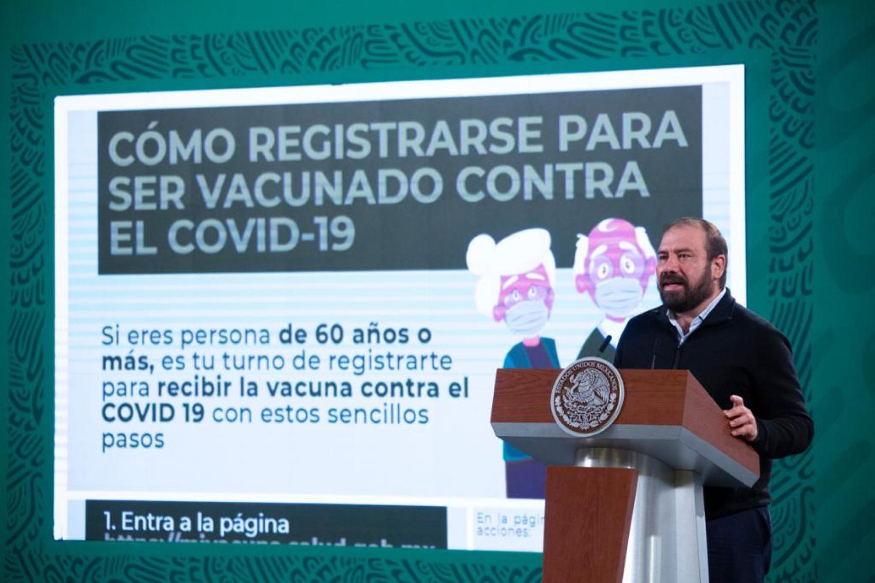 Cae página web para el registro de vacunación contra Covid-19 en adultos mayores