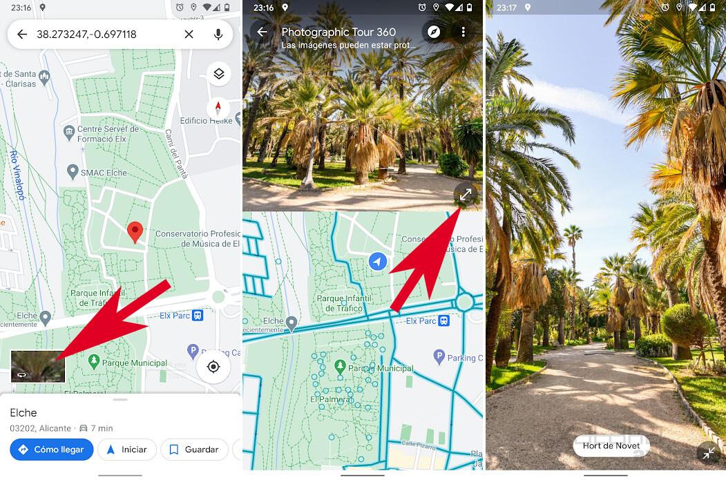 Google Maps agrega una pantalla dividida para ver Street View y el mapa 2