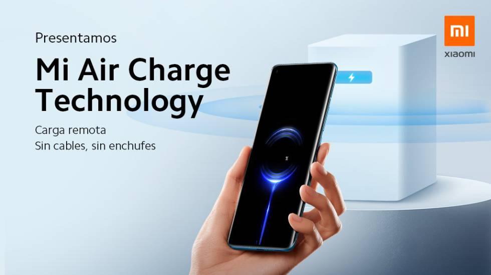 Xiaomi Mi Air Charge, el nuevo sistema de carga a través del aire