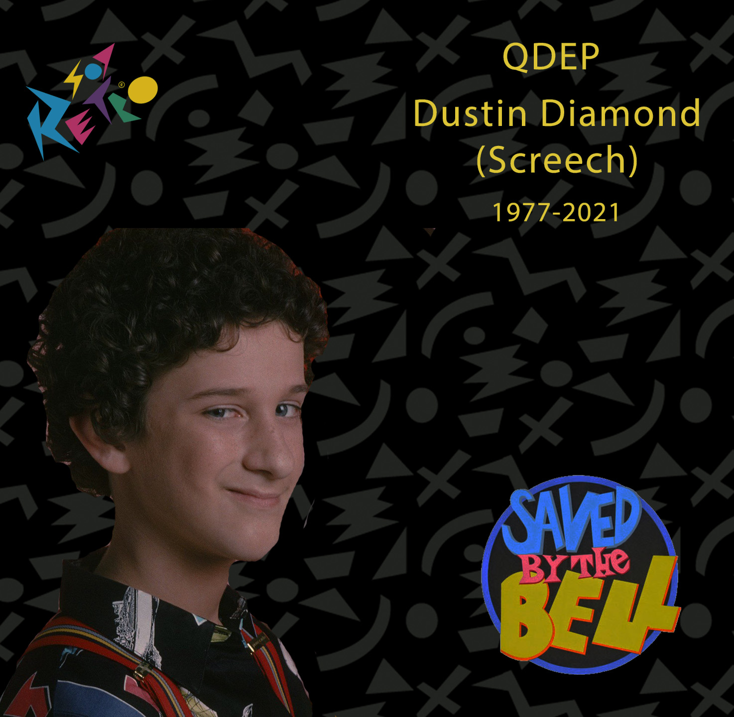 Dustin Diamond, Screech de Salvados por la campana, falleció de cancer esta mañana