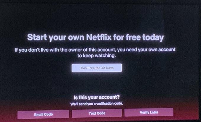 Netflix se prepara para evitar que usuario compartan contraseñas