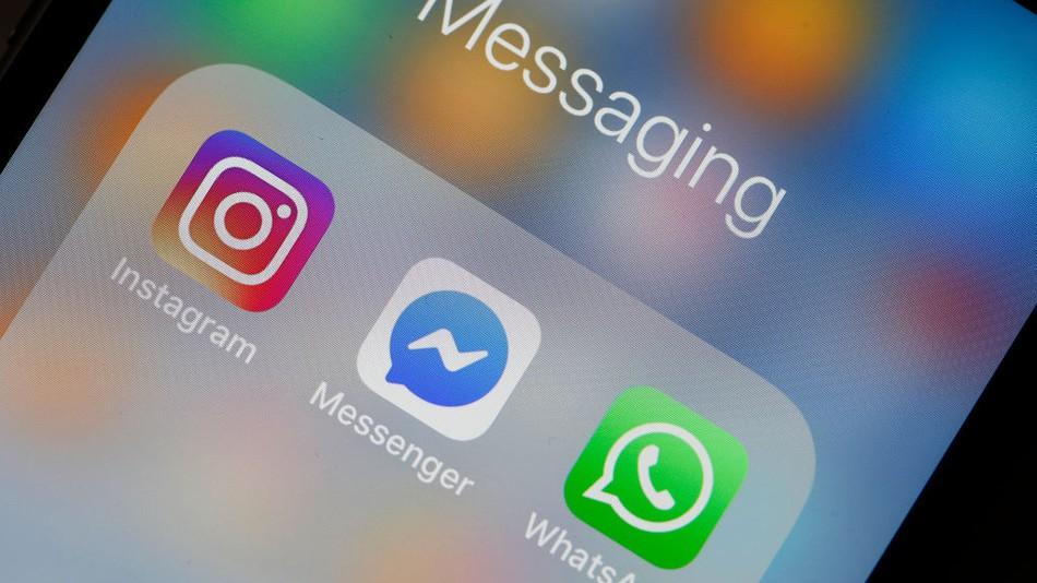 Reportan caída de WhatsApp, Facebook e Instagram