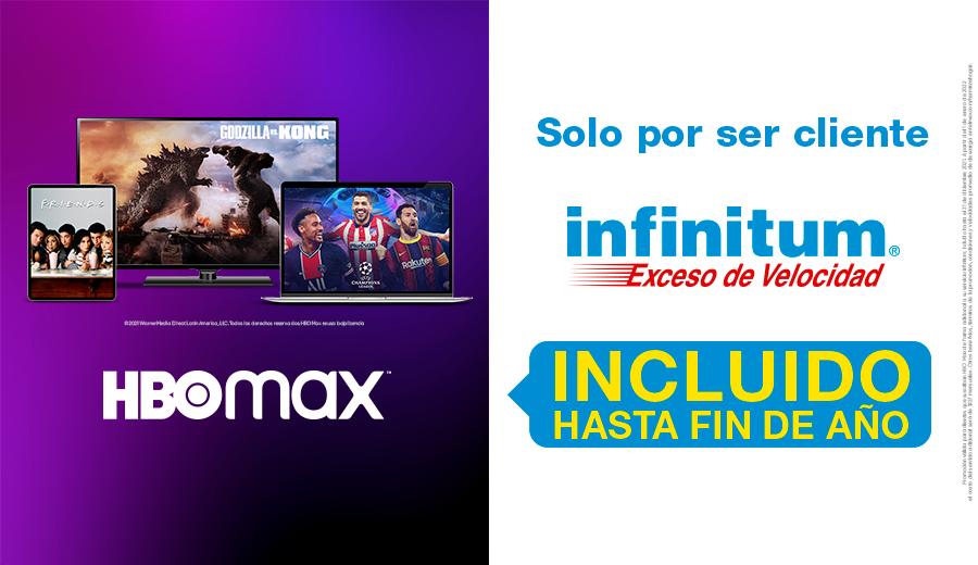 Telmex ofrece 6 meses gratis de HBO Max para clientes Infinitum